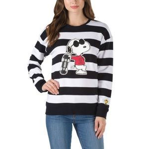 Vans X Peanuts Snoopy Joe Cool Crewneck Sweater